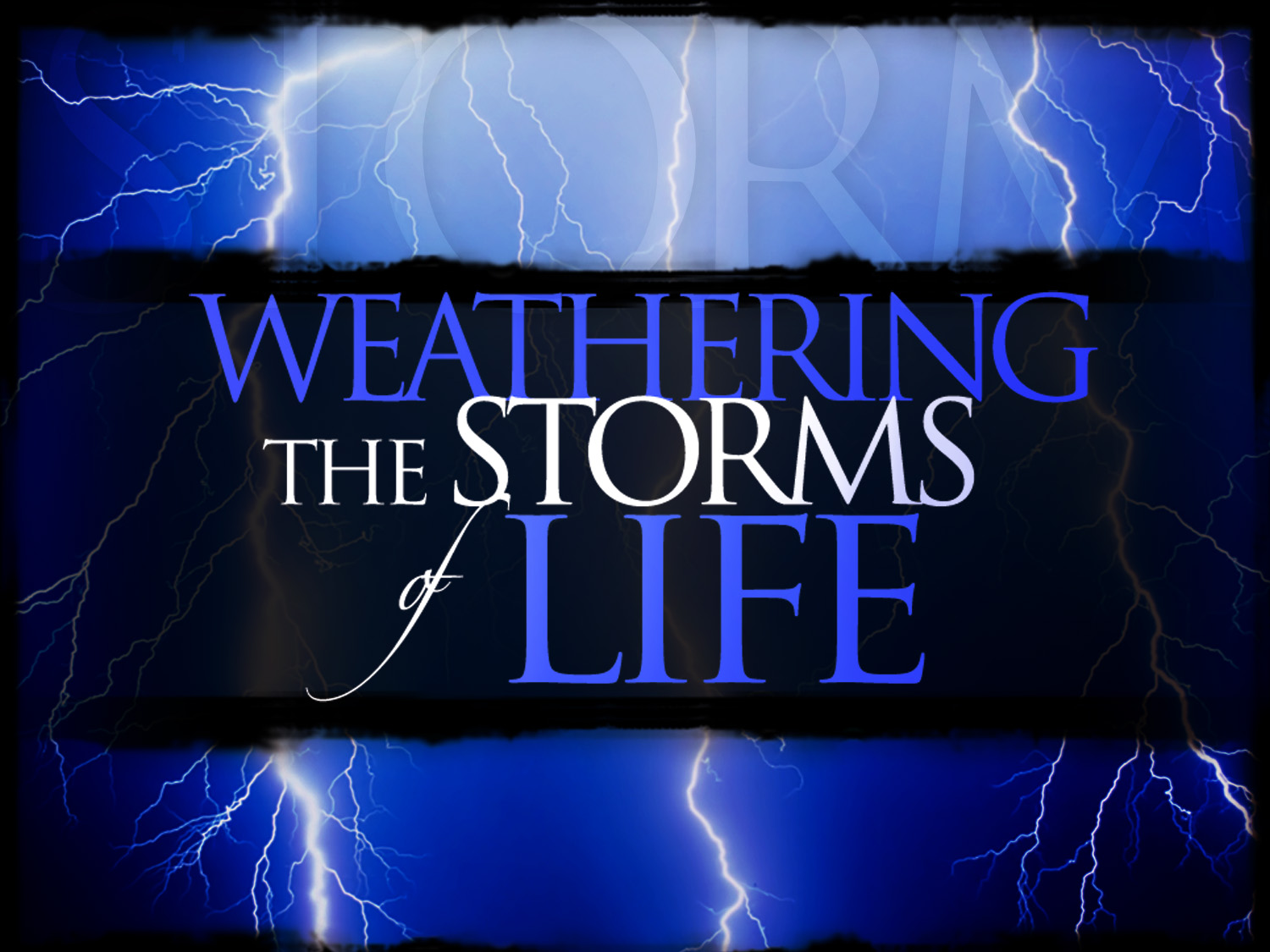 christian quotes on storms of life